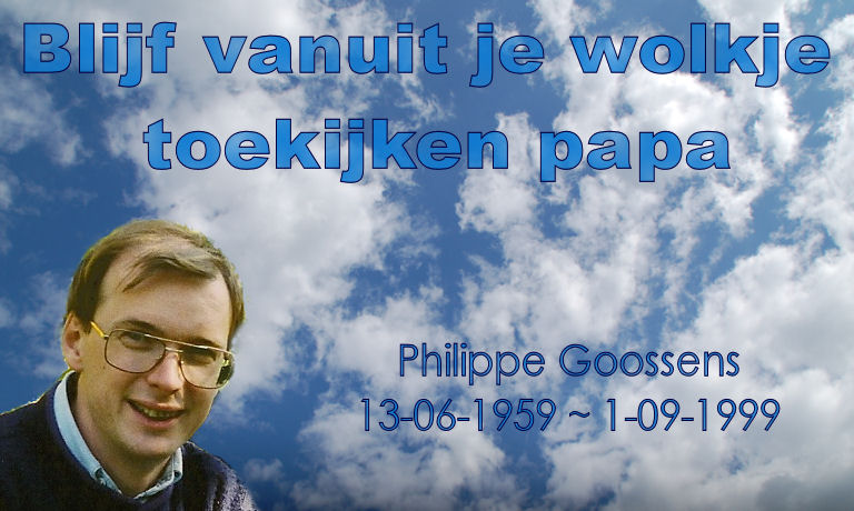 Click to see a video dedicated to Philippe Goossens
